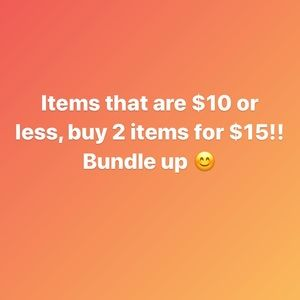 Tops - Buy 2 items that are under $10!